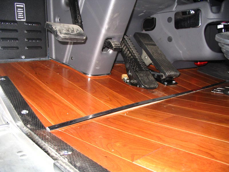 Big r express photos for Wood floor kits for pickups